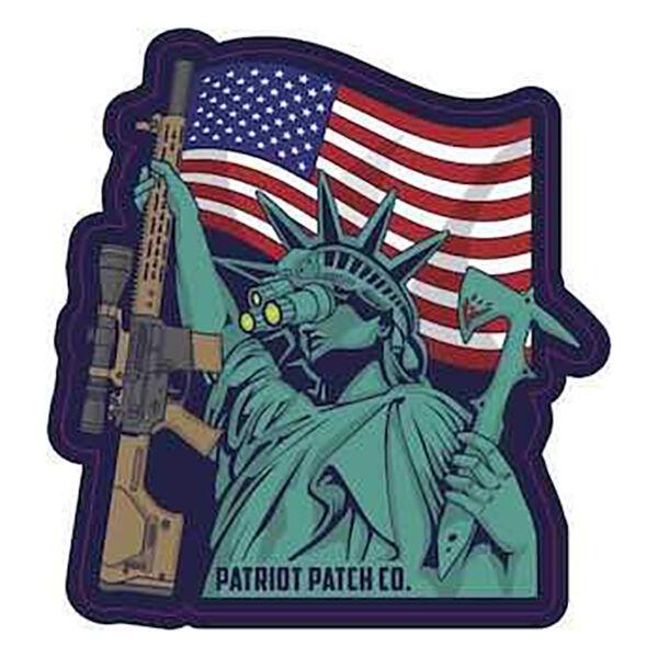 Patriot Lady Liberty Sticker