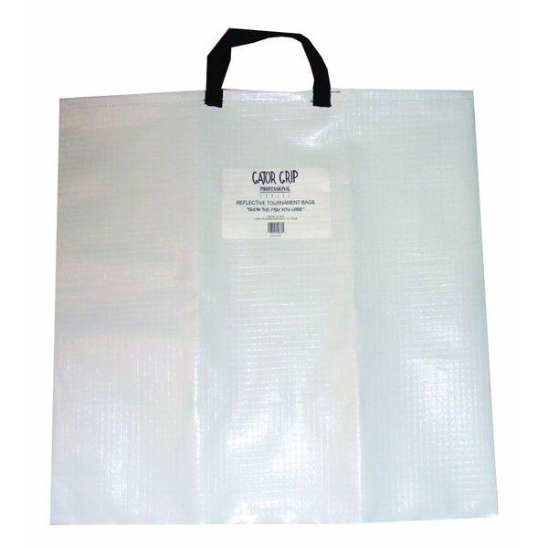 Gator Grip Fish Weigh Bag, White/Black