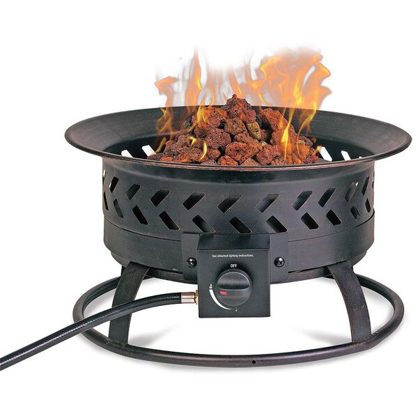 Portable Steel Propane Outdoor Fire Pit