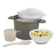 Microwave Rice Cooker, 6-cup