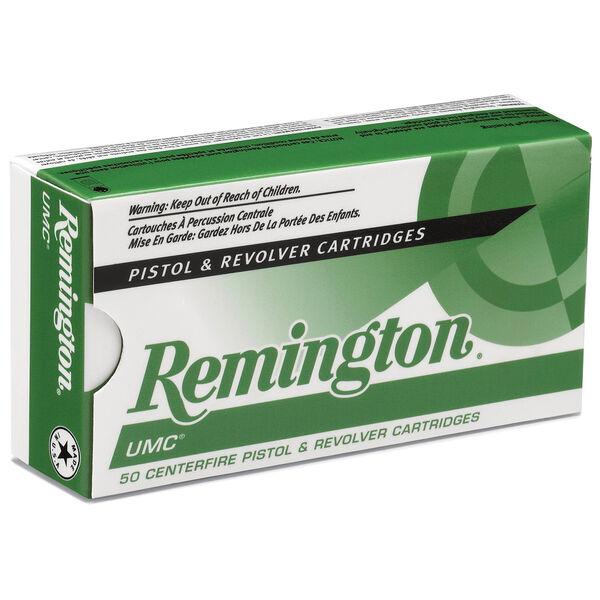 Remington UMC Handgun Ammunition, .38 Special, 130-gr., FMJ, 50 Rounds