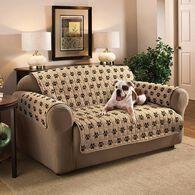 "Paw Print Furniture Protector, Loveseat, Seat Width- 46"""
