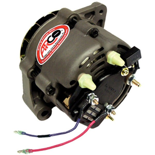 Arco Mando 55-Amp Alternator For Late Model Mercruiser, Multi-Groove Pulley