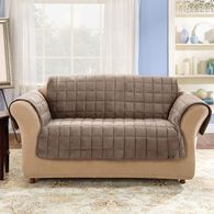 "Deluxe Pet Loveseat Throw - 52"" Width, Sable"