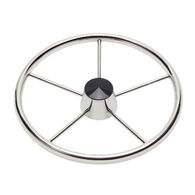 "Schmitt Destroyer Steering Wheel With Polished Grip, 13.5"" dia."