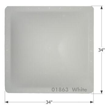 RV Skylight - SL3030W - White