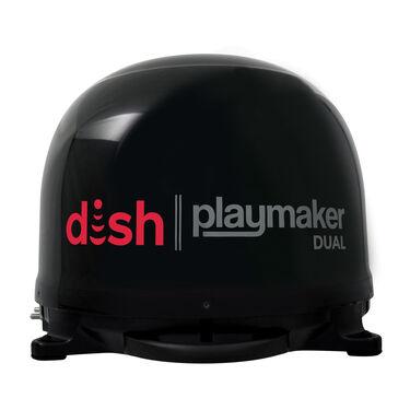DISH Playmaker Dual Portable Satellite Antenna, Black