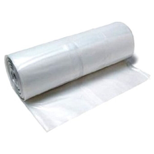 Poly-America 4mL Clear Plastic Sheeting, 10' x 100'