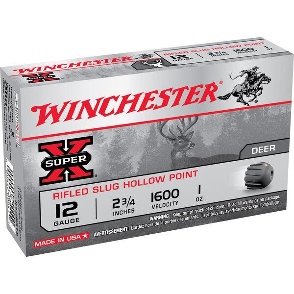 "Winchester Super-X Rifled Slug Shotshells, 12-ga., 2-3/4"", 1-oz."