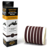 Work Sharp WSKTS P220 Grit Ceramic Oxide Belt Accessory Kit, 6-Pack