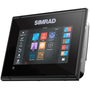 Simrad GO5 XSE Fishfinder Chartplotter With Basemap and HDI Transducer