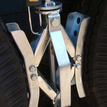 Deluxe Tire Locking Chock Pad Lock