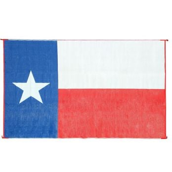 Texas Flag Outdoor Mat, 9'x12'