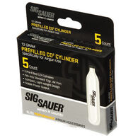 SIG Sauer CO2 Cylinders, 12-gr., 5-ct.