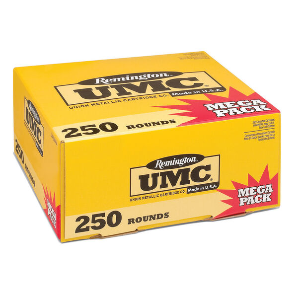 Remington UMC Handgun Ammunition Mega Pack, .380 ACP, 95-gr., FMJ, 250 Rounds