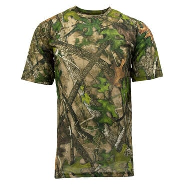 TrueTimber Men's True Short-Sleeve Performance Tee, HTC Green Camo
