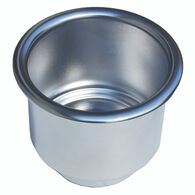 Stainless Steel Drink Holder With Drain Hole
