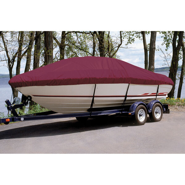 Custom Fit Ultima Solution Dyed Polyester Boat Cover For TAHOE Q8 I