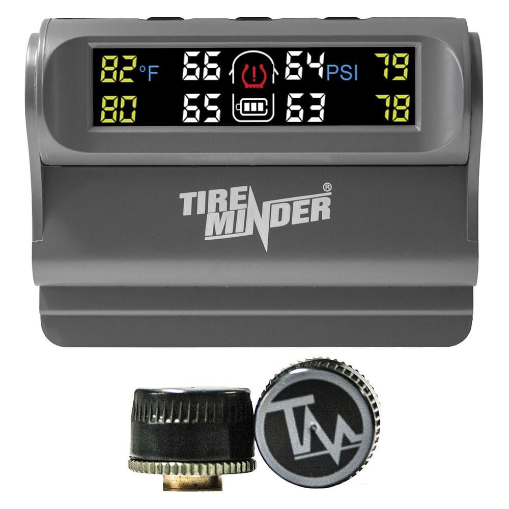 Tire Pressure Monitoring System >> Tireminder Trailer Tire Pressure Monitoring System Tpms 2 Tire