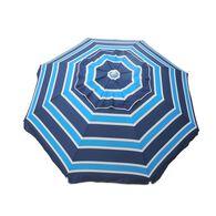 7 ft Beach Umbrella Blues with Travel Bag