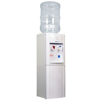 White Energy Star Hot & Cold Top Load Water Dispenser