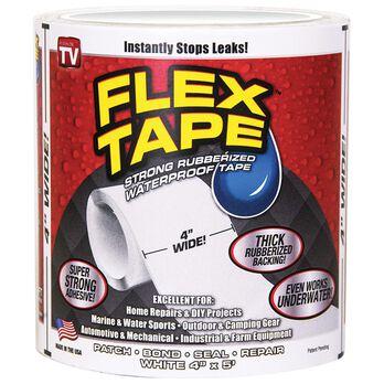 """Flex Tape, 4"""" White"""