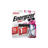 Energizer MAX Alkaline AAA Batteries, 8 Pack
