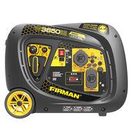 FIRMAN 3650/3300 Watt Electric Start Inverter Portable Generator