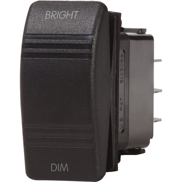 Blue Sea Systems Contura III Dimmer Control Switch, SPDT (ON)-OFF-(ON)