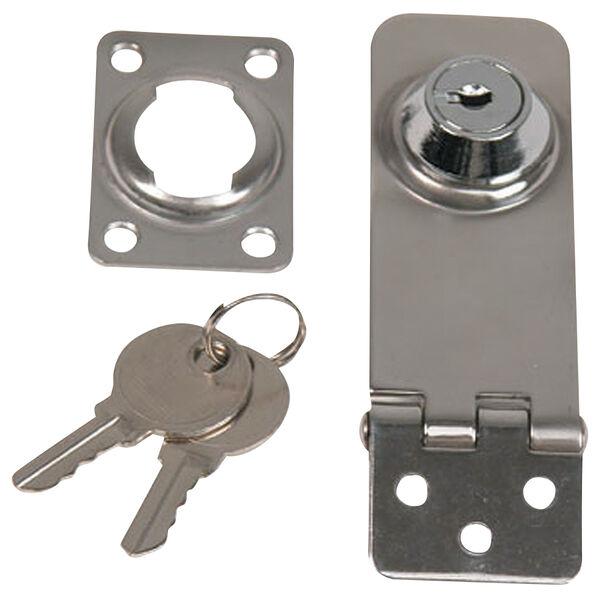 """Whitecap Stainless Steel Locking Hasp, 1"""" x 3"""""""