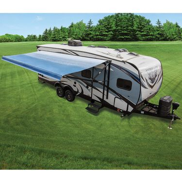 Dometic 9100 Power Patio Awning, Vinyl Linen Fade