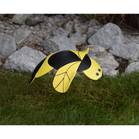 Honey Bee and Lady Bug Lawn Ornament Set