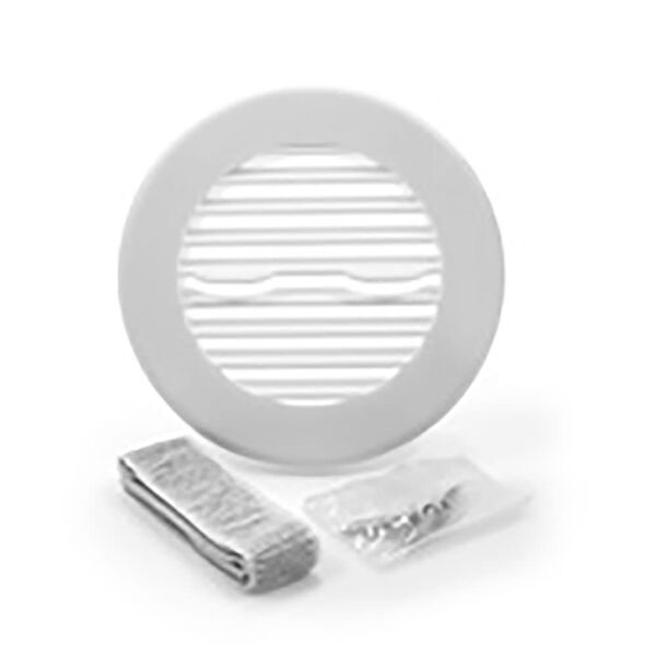 Camco Round Air Conditioning Ceiling Vent, White