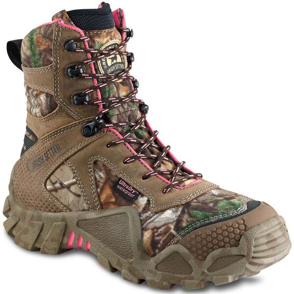 """Irish Setter Women's Vaprtrek Waterproof 8"""" Hunting Boot"""