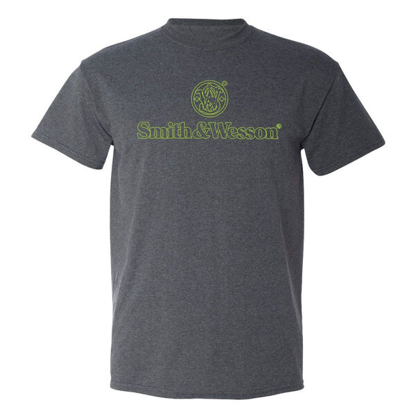 Smith & Wesson Men's Stacked Logo Short-Sleeve Tee