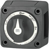 Blue Sea Systems m-Series Mini Dual Circuit Battery Switch
