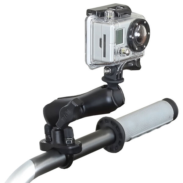 RAM Mount GoPro HERO Handlebar/Rail Mount Adapter With Standard Arm