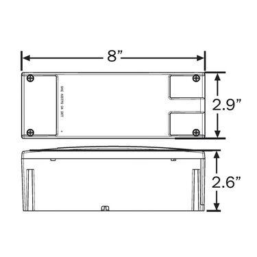 Optronics Glolight Waterproof LED Low-Profile Combination Tail Light Kit