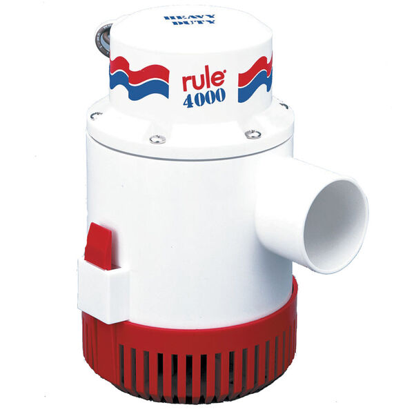 Rule 4000 Non-Automatic 12V Bilge Pump