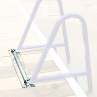 Optional Flip-Up Mount with Quick Release for Tie Down Dock Ladders