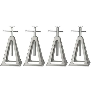 Aluminum Stack Jacks, Set of 4