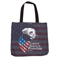 Dog is Good Freedom Tote