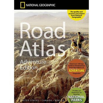 National Geographic Road Atlas – Adventure Edition