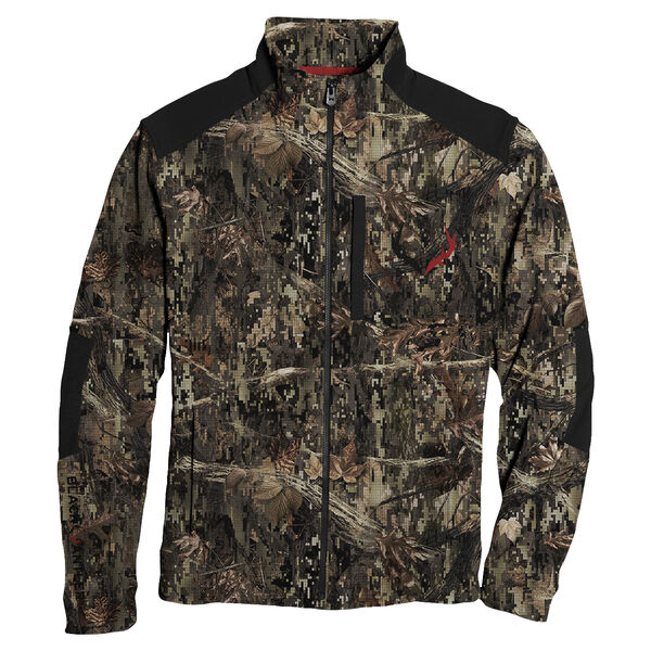 Black Antler Men's Moto Full-Zip Jacket