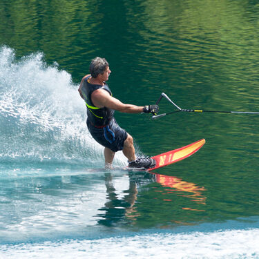 Connelly Men's Aspect Slalom Waterski With Shadow Binding And Rear Toe Plate