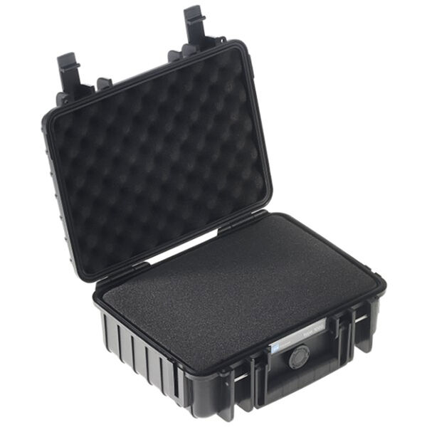 B&W Type 1000 Outdoor Case with Sponge Insert