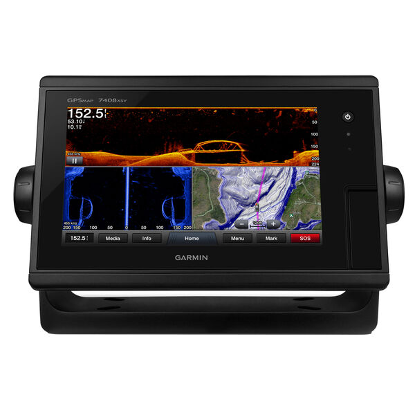 Garmin GPSMAP 7408xsv Chartplotter/Fishfinder Combo