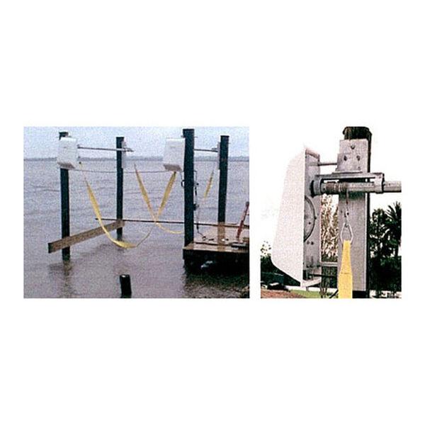 Lunmar Piling-Mount 5,600-lb. Capacity Boat Sling Lift