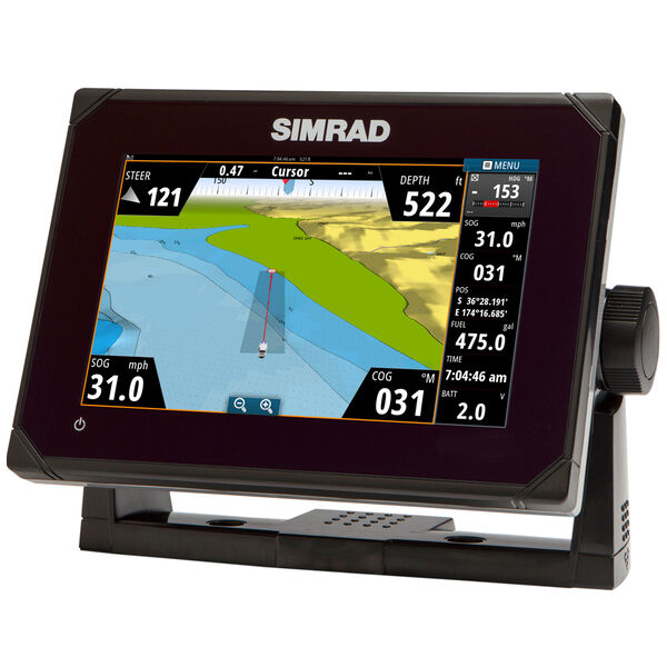 Simrad GO7 Multi-Touch Chartplotter With Built-in Echosounder And GPS