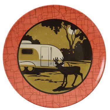 Camp Casual 12-Piece Dish Set